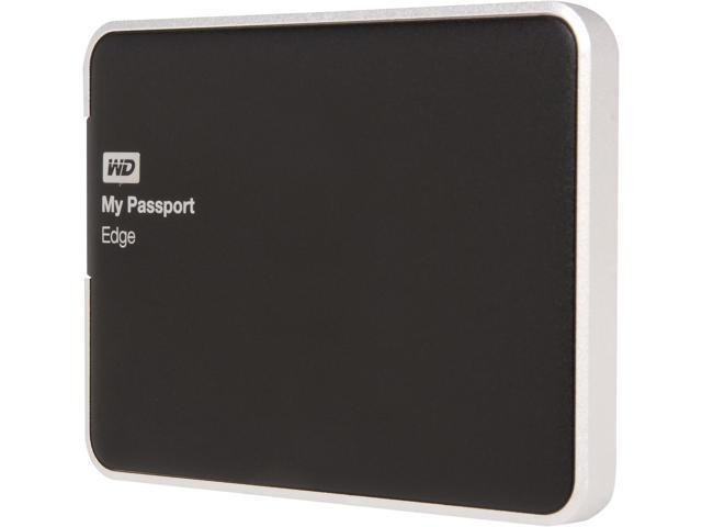 "WD My Passport  Edge for Mac 500GB 2.5"" USB 3.0 Portable Hard Drive Model WDBJBH5000ABK-NESN"