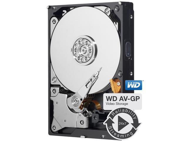 WD AV-GP WD40EURX 4TB IntelliPower 64MB Cache SATA 6.0Gb/s 3.5