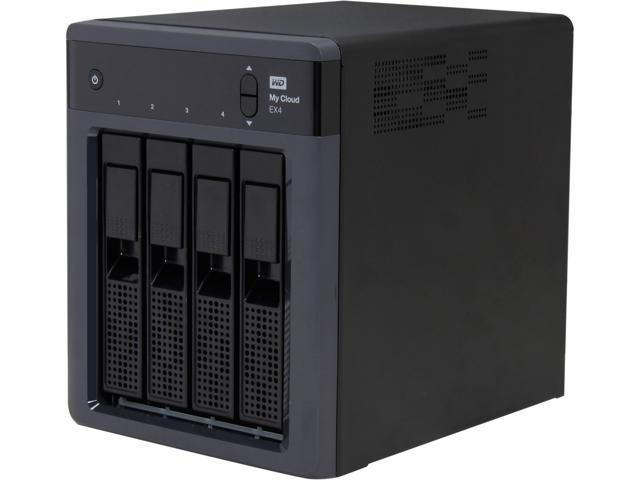 WD My Cloud EX4 12TB: 4-Bay Personal Cloud Storage WDBWWD0120KBK-NESN