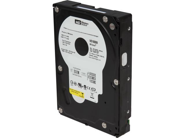 "WD Blue WD1600BB 160GB 7200 RPM 2MB Cache IDE Ultra ATA100 / ATA-6 3.5"" Hard Drive Bare Drive"