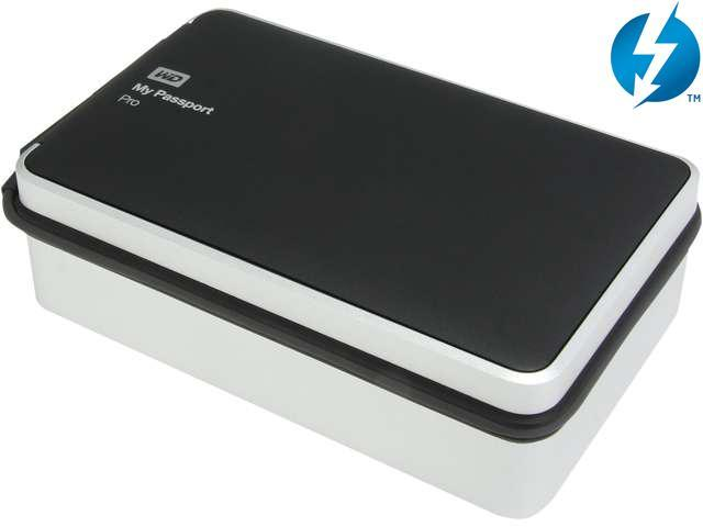 Wd 4tb My Passport Pro Portable External Hard Drive