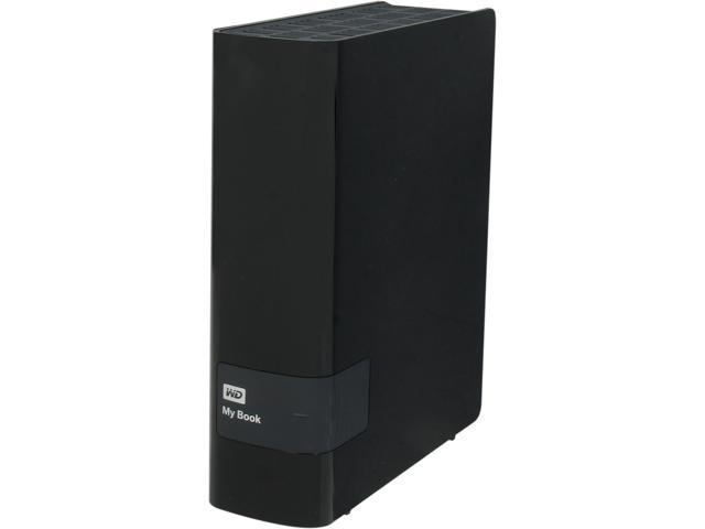 "WD My Book 3TB USB 3.0/USB 2.0 3.5"" External Hard Drive Black"