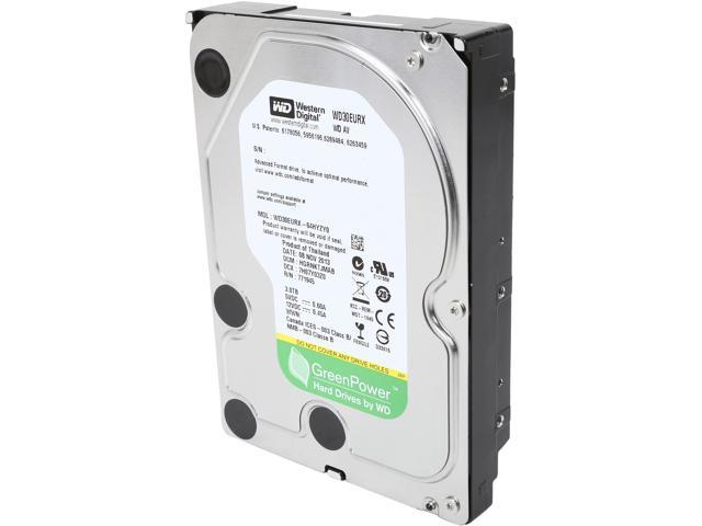 "WD AV-GP WD30EURX 3TB IntelliPower 64MB Cache SATA 6.0Gb/s 3.5"" Internal Hard Drive"