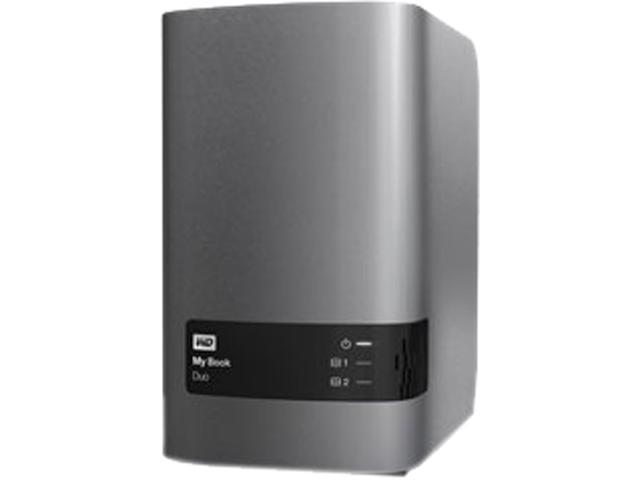 Western Digital My Book Duo 4TB USB 3.0 Premium RAID Storage WDBLWE0040JCH-NESN