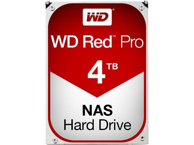 WD Red Pro 4TB NAS Hard Disk Drive - 7200 RPM Class SATA 6Gb/s 64MB Cache 3.5 Inch - WD4001FFSX