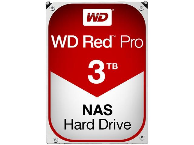 WD Red Pro 3TB NAS Desktop Hard Disk Drive - Intellipower SATA 6Gb/s 64MB Cache 3.5 Inch - WD3001FFSX