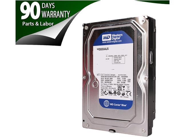 Western 80GB 7200 RPM 8MB Cache SATA 3.0Gb/s 3.5