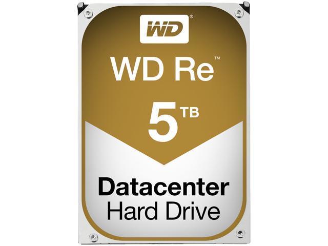 Western Digital RE WD5001FSYZ 5TB 7200 RPM 128MB Cache SATA 6.0Gb/s 3.5