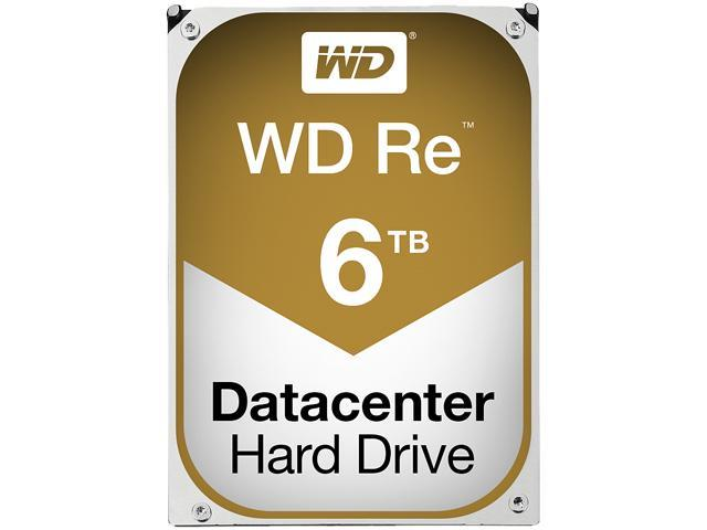 "Western Digital RE WD6001FXYZ 6TB 7200 RPM 128MB Cache SATA 6.0Gb/s 3.5"" Datacenter Capacity HDD"