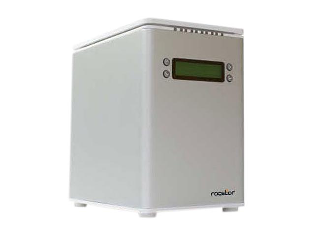 Rocstor Arcticroc 4Te 12TB USB 2.0 / Firewire400 / Firewire800 / eSATA 4-Bay DAS Array