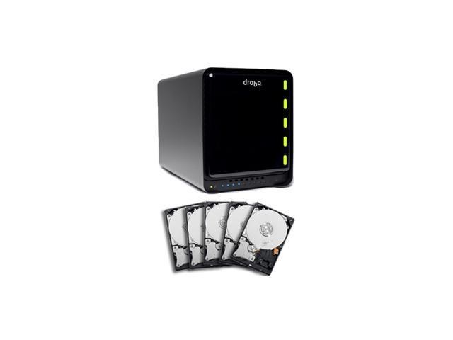 "Drobo FS 10TB 10/100/1000 Ethernet Port 3.5"" Network External Hard Drive"