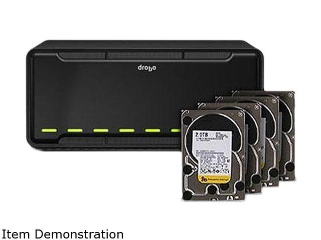 Drobo DR-B800FS-4A21-D04 Easy-to-Use Network-Attached Storage with Remote Replication