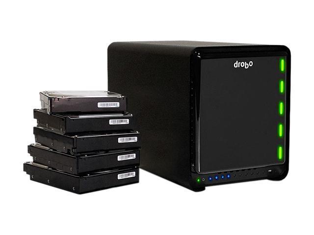 Drobo 10TB USB 3.0 Storage Array DRDR4A21-S05