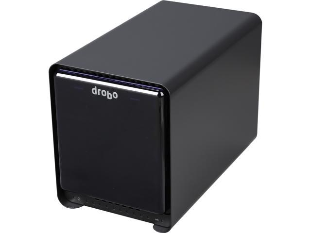 Drobo Direct Attached Storage - 5 bay array with mSATA SSD acceleration - USB 3 and Thunderbolt ports (DRDR5A21)