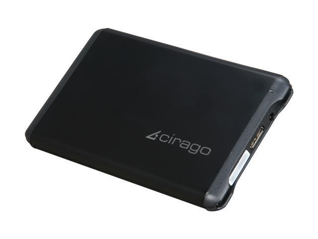 cirago 320GB Portable External Hard Drive USB 3.0 Model CST6032 Black