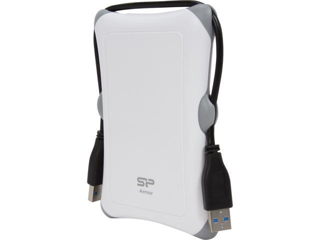 "Silicon Power Armor 1TB USB 3.0 2.5"" Shockproof Portable Hard Drive SP010TBPHDA30S3W"