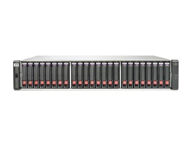 HP AW594B Diskless System P2000 G3 SAS MSA Dual Controller SFF Array System