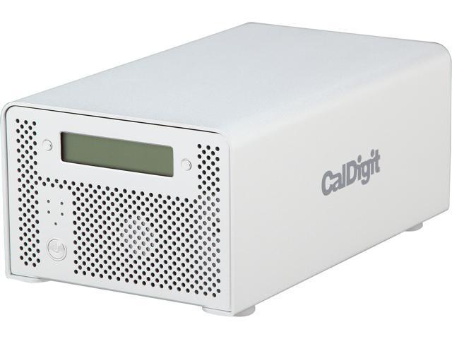 CalDigit VR2 4TB 1 x USB 3.0 / 2 x Firewire 800 / 1 x Firewire 400 / 1 x eSATA External Hard Drive 820504 Silver
