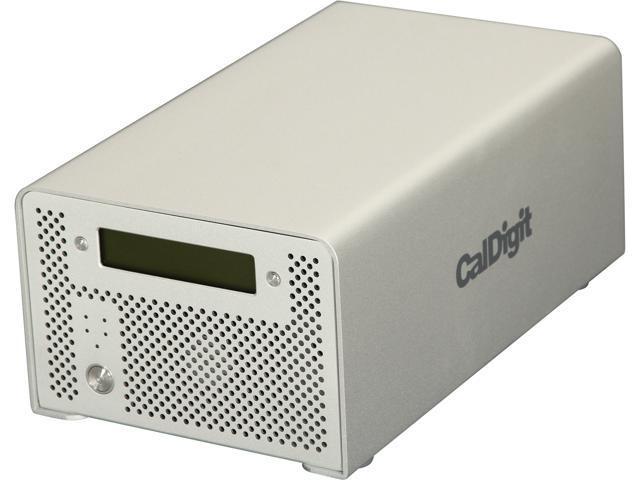 CalDigit VR2 6TB 1 x USB 3.0 / 2 x Firewire 800 / 1 x Firewire 400 / 1 x eSATA External Hard Drive 820516 Silver