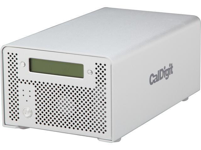 CalDigit VR2 8TB 1 x USB 3.0 / 2 x Firewire 800 / 1 x Firewire 400 / 1 x eSATA External Hard Drive 720519 Silver