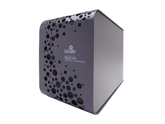 """ioSafe SOLO G3 1TB USB 3.0 3.5"""" External Hard Drive with Fireproof / Waterproof, 1 year DATA Recovery SVC"""