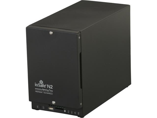 ioSafe N2 Diskless System NAS powered by Synology DSM  Fireproof and Waterproof