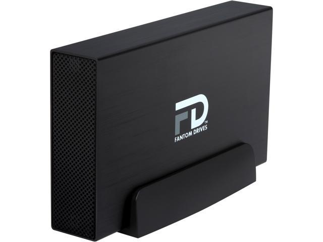 Fantom Drives G-Force3 Pro 2TB USB 3.0 Aluminum Desktop External Hard Drive GF3B2000UP Black