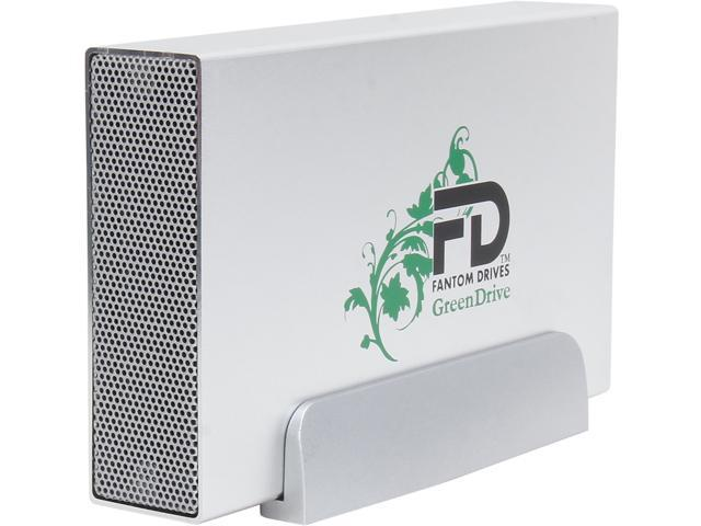 Fantom Drives GreenDrive3 4TB USB 3.0 Aluminum Desktop External Hard Drive