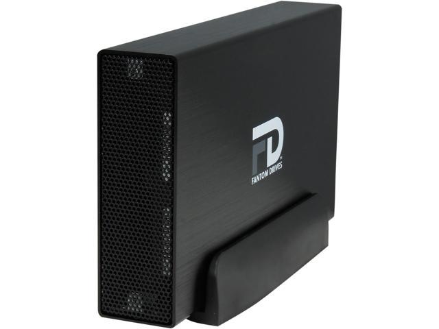 Fantom Drives 2TB eSATA/ USB 3.0 GFORCE3 USB 3.0 ESATA Aluminum External Hard Drive GF3B2000EU Black