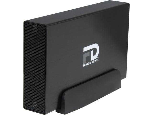 Fantom Drives Professional 2TB USB 3.0 / eSATA Aluminum Desktop External Hard Drive GFP2000EU3 Black