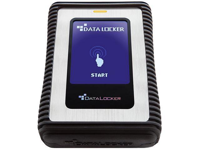 DataLocker DL3 500GB USB 3.0 Portable External Hard Drive DL500V32F