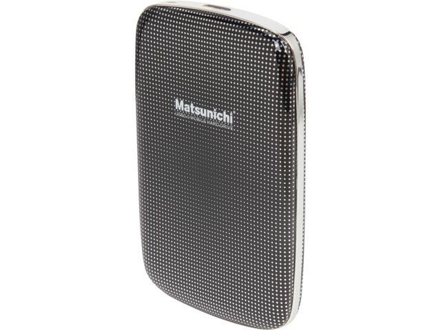 Matsunichi 1TB Portable External Hard Drive USB 3.0 Model DM256-BK-1TB Black
