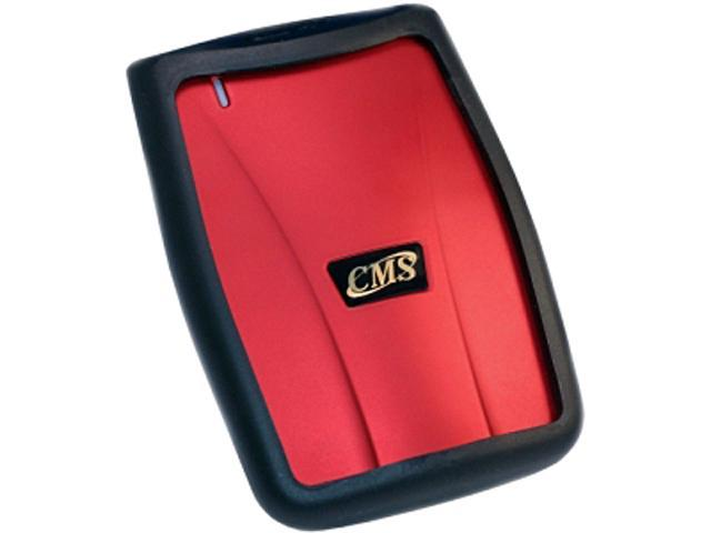 CMS Products 1TB ABS-Secure External Hard Drive USB 2.0 Model V2ABS-CELP-1TB