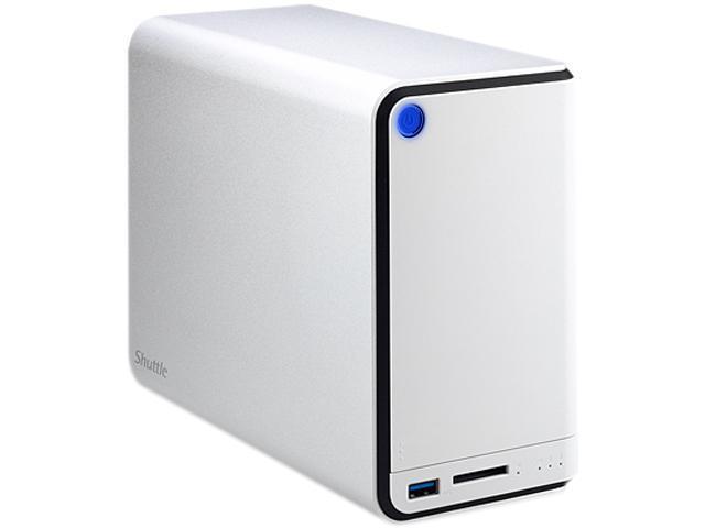 Shuttle OMNINAS KD20 NAS 2Bay USB3.0 256MB 1Gb Supports up to 4TBx2 HDD Storage RAID