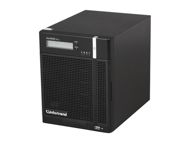 Infortrend ENP500MC-0030 EonNAS Pro 500 5 Bay Tower ZFS NAS Solutions for SMBs and SOHO Users