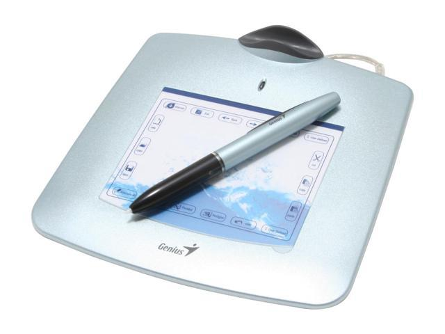 Genius G-Pen 340 Tablet with Corless Pen, 1024 Pressure Level Support MSN Handwritting