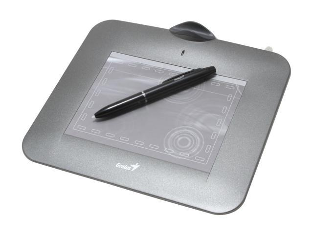 Genius G-Pen 450 Tablet with Cordless Pen, 1024 Pressure Level Supports MSN Handwritting