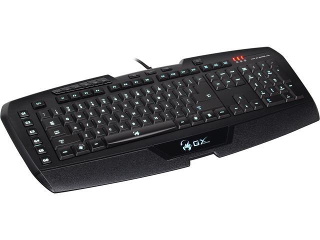 Genius GX-Gaming Imperator Pro Black USB Wired Gaming MMO/RTS Keyboard (31310053101)