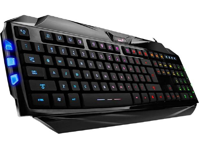 Genius 31310469100 Scorpion K5 Gaming Keyboard Newegg Com