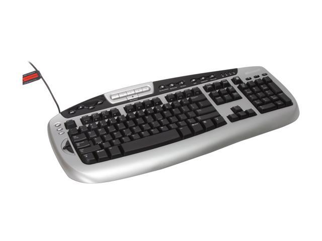 Microsoft Digital Media Pro Black&Silver Wired Keyboard - OEM