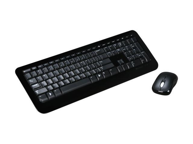 Microsoft Desktop 800 2LF-00001 Black USB RF Wireless Keyboard & Mouse