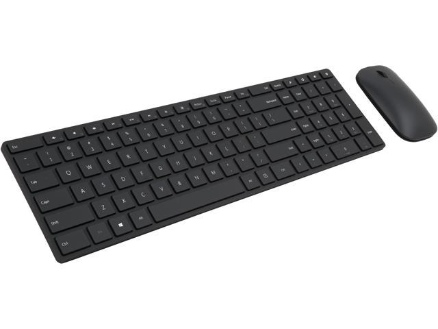 Microsoft Black Slim Keyboard & Mouse - Newegg.com