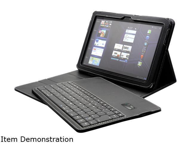 Black Supermini Portfolio Bluetooth Keyboard for 8