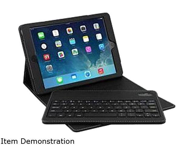 SolidTek iPad Air BT Keyboard Portfolio KB-X3001B-AIR Bluetooth Wireless Keyboard