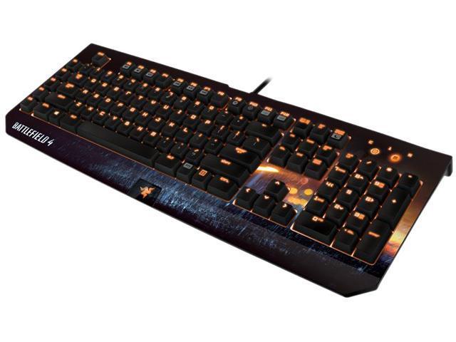 Battlefield 4 Razer BlackWidow Ultimate Mechanical PC Gaming Keyboard