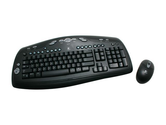 Logitech LX300 Black 86 Normal Keys 34 Function keys Function Keys RF Wireless Standard Desktop