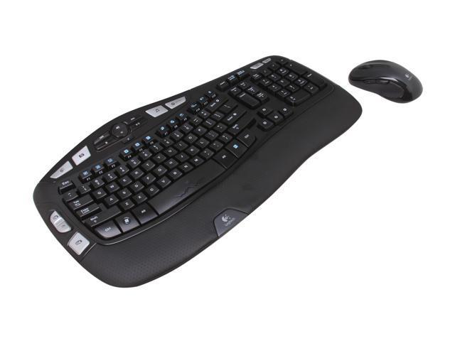 Logitech MK550 K920-002555X Black RF Wireless Wave Combo (K350 + M510)