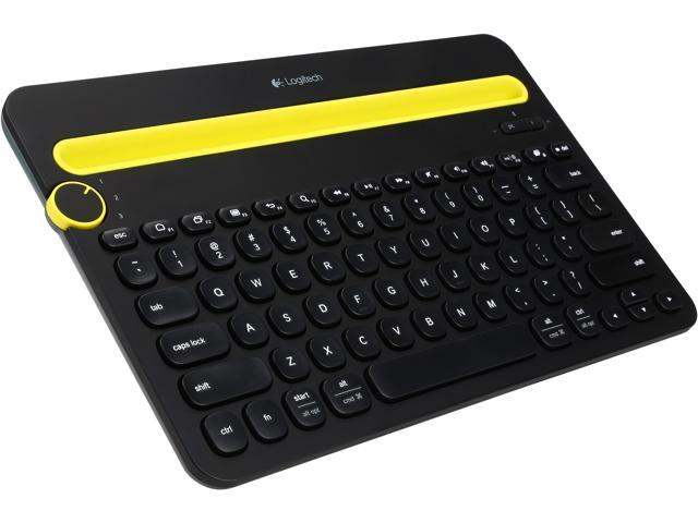Logitech Bluetooth Multi-Device Keyboard K480 for Computers, Tablets & Smartphones (920-006342)