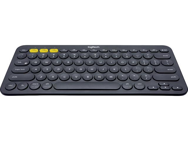 Logitech K380 920-007558 Black Bluetooth Wireless Mini Multi-Device Keyboard