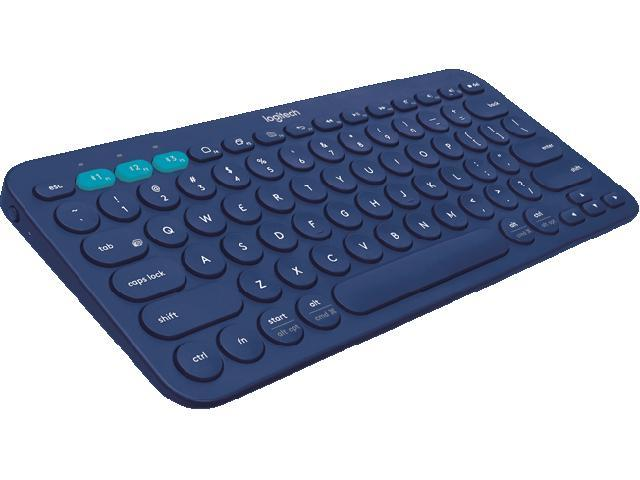 Logitech K380 920-007559 Blue Bluetooth Wireless Mini Multi-Device Keyboard
